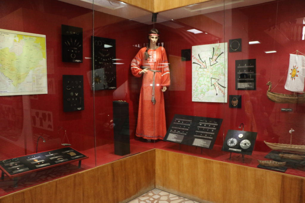 Продолжается реконструкция экспозиции Волоколамского историко-археологического музея