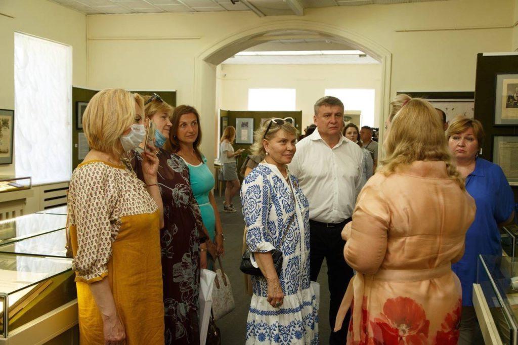 Открытие выставки «Благочестивые Константиновичи»