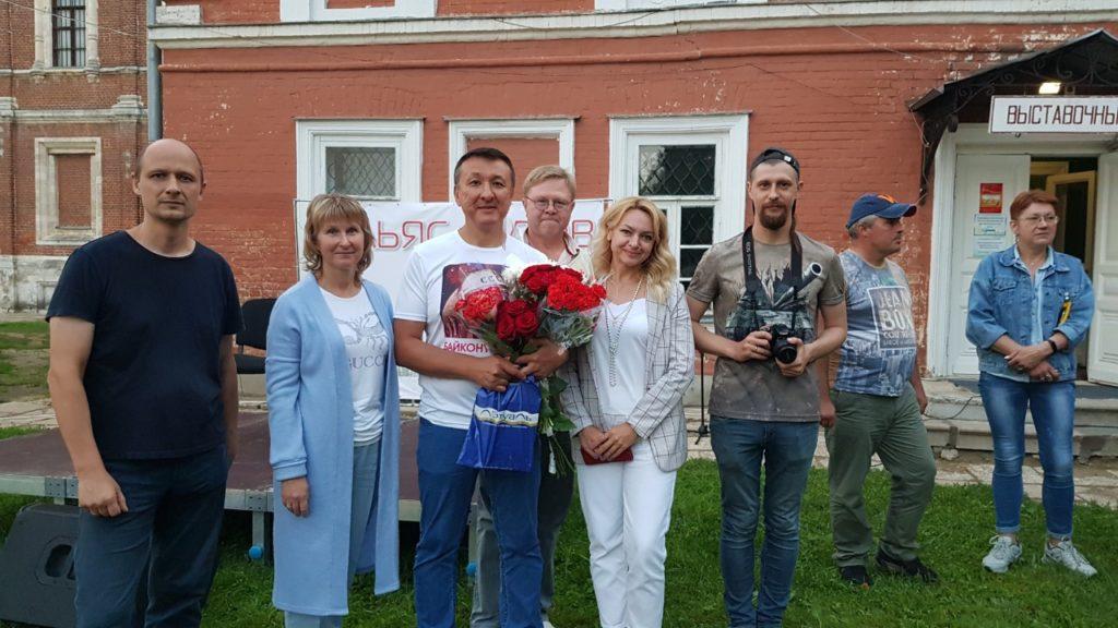 Выступление Ильяса Аутова